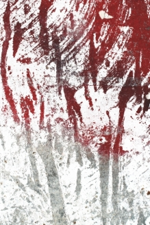 ROBERTO ALBORGHETTI LACER/ACTIONS ART - CANVAS - Victims&Martyrs - The Blood'sTracks # 2 - Nine Eleven, 2001, New York, Usa (427x640)