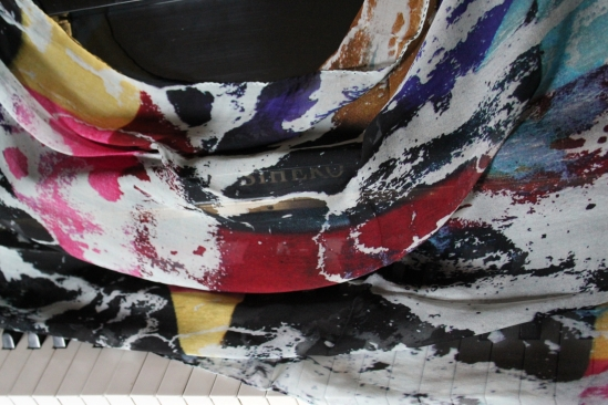 Street Art And Fashion How To Create Silk Textiles From