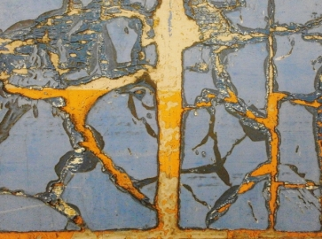 """DANCING BRANCHES?"" - CANVAS - 70X50 - 2012"
