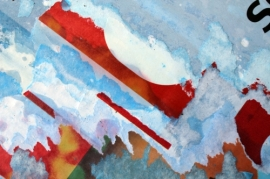 ROBERTO ALBORGHETTI, LACER-ACTIONS, CANVASES (2)