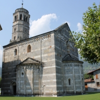 A RARE MEDIEVAL MONUMENT ON THE LAKE COMO SHORES