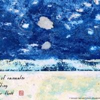 "HAIKU AND VISUAL ART TELLING ""A JAR OF RAINWATER"""