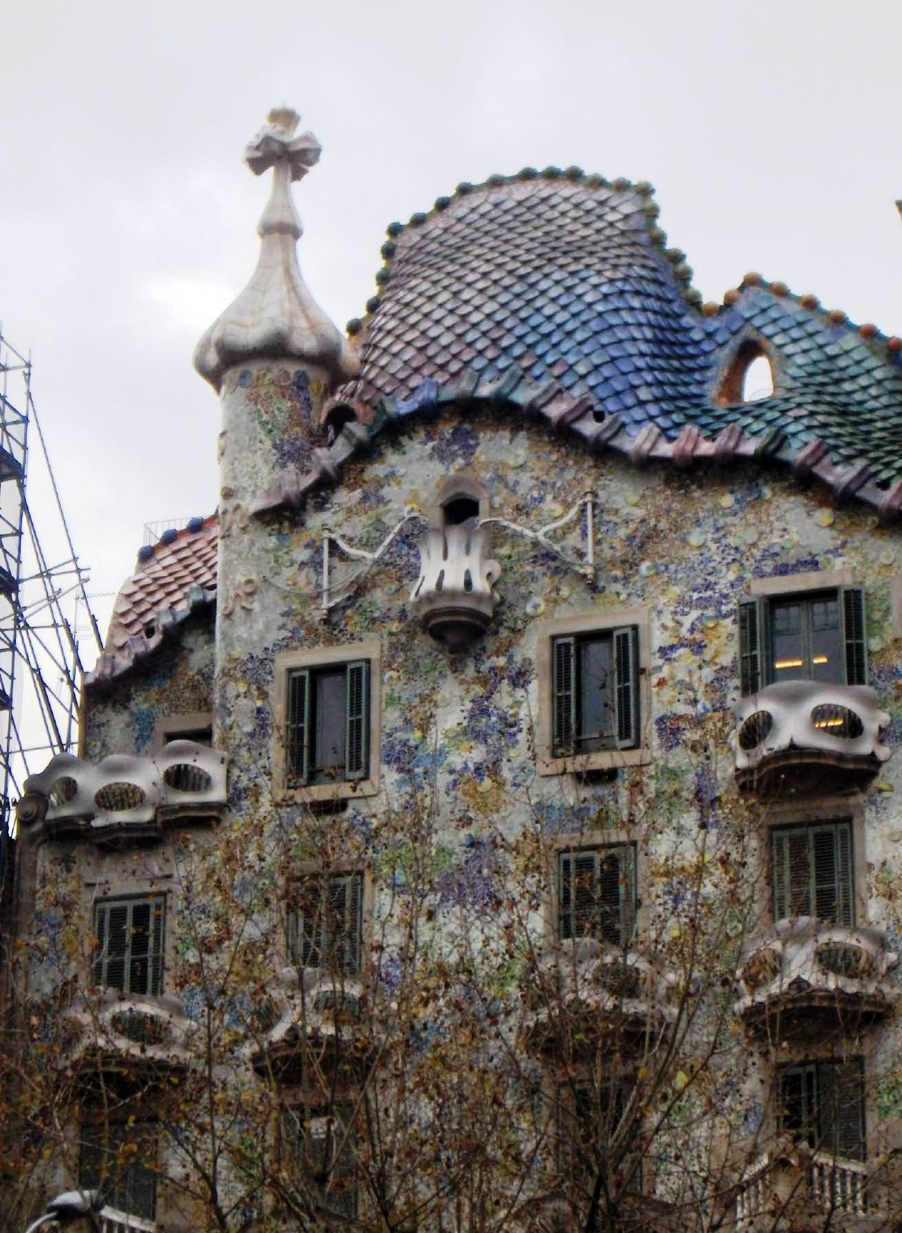 BARCELONA  SPAIN   GAU...