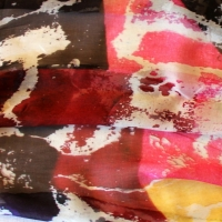 FASHION DESIGN PREVIEW 2012 : LIMITED EDITION OF 3 SILK SCARVES CREATED WITH MY TORN POSTERS IMAGES