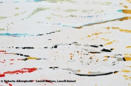 ROBERTO ALBORGHETTI LACER/ACTIONS - THE SPRING WINGS SERIES - CANVAS
