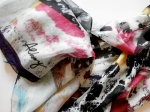 TORN POSTERS ART INSPIRED SILK SCARVES: THE CLIP