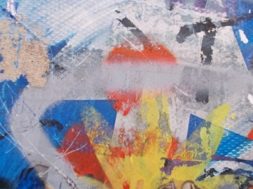"""ROBERTO ALBORGHETTI LACER/ACTIONS ART - PURE ABSTRACT IN ROME FROM AN ASTONISHING OPEN AIR """"ART INSTALLATION"""""""