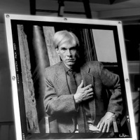 NEVER BEFORE SEEN MODELING PORTRAITS OF ANDY WARHOL DEBUT; FIRST PRINT ACQUIRED BY PRINCE OF MONACO