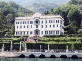VILLA CARLOTTA FROM THE LAKE