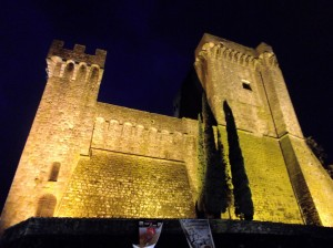 ALDOBRANDESCA FORTRESS, TUSCANY, ITALY