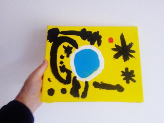 Noemi painting 2