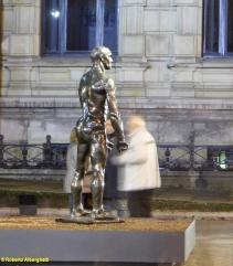 1 BILBAO - Rodin Exhibit. Gran Via