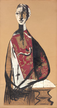PALBLO PICASSO - PORTRAIT OF A LADY 1928