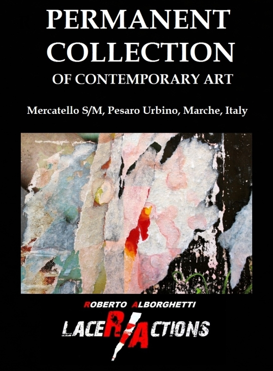ROBERTO ALBORGHETTI AT PERMANENT COLLECTION OF CONTEMPORARY ART, MERCATELLO SM, MARCHE, ITALY