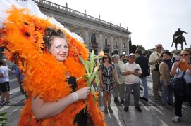 Roma, Festa floreale in onore del nuovo Re d'Olanda (1)