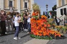 Roma, Festa floreale in onore del nuovo Re d'Olanda (11)