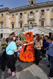 Roma, Festa floreale in onore del nuovo Re d'Olanda (19)