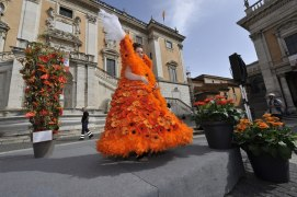 Roma, Festa floreale in onore del nuovo Re d'Olanda (2)
