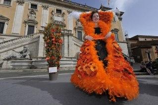 Roma, Festa floreale in onore del nuovo Re d'Olanda (21)