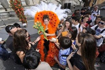 Roma, Festa floreale in onore del nuovo Re d'Olanda (5)