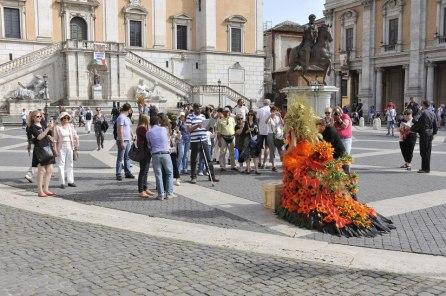Roma, Festa floreale in onore del nuovo Re d'Olanda (6)