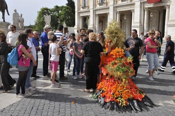 Roma, Festa floreale in onore del nuovo Re d'Olanda (8)