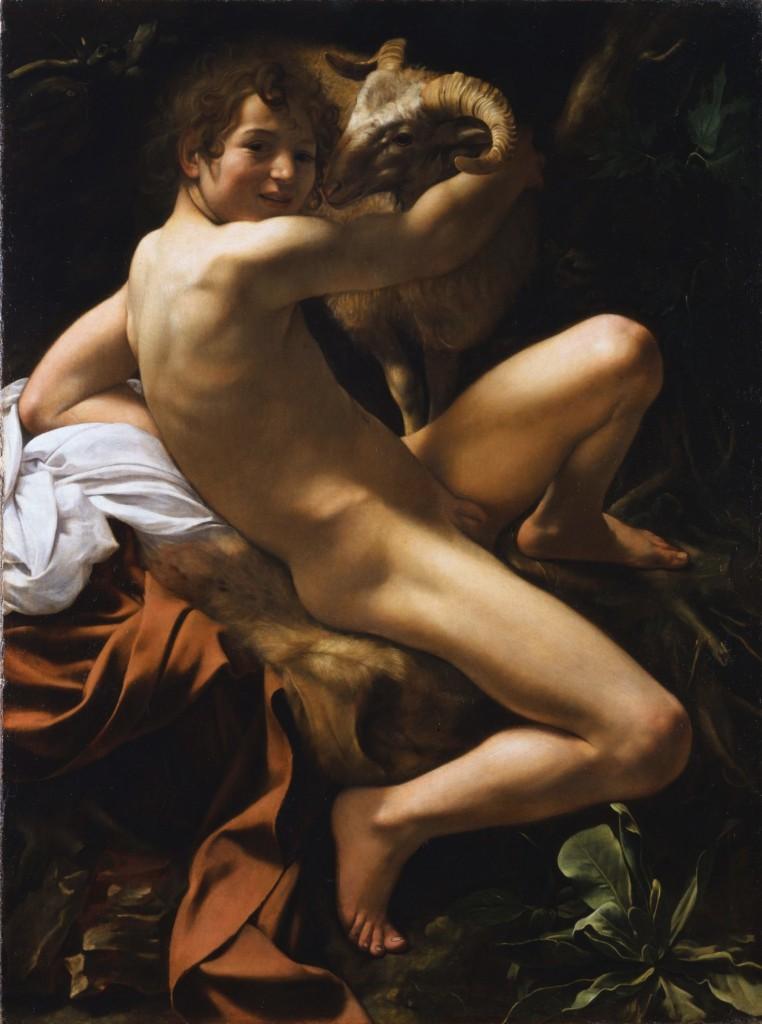 Caravaggio, San Giovanni Battista, St. John The Baptist