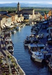 Cesenatico, Italy - Porto Canale designed by Leonardo da Vinci (1506) Photo Ufficio Turismo Cesenatico