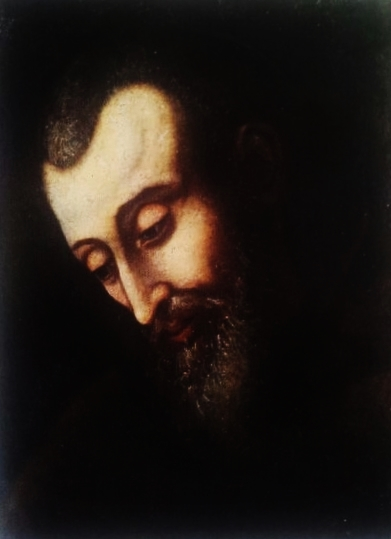 Thomas From Bergamo (1563-1631) - The touching and beautiful portrait made in Innsbruck (Austria) in 1631 by artist Martin T. Polak