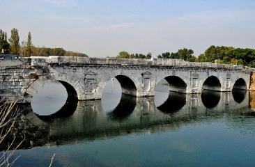 c - Ponte di Tiberio - From Wikipedia
