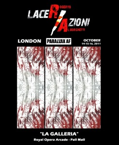 lacer-azioni-at-parallax-london-official-poster