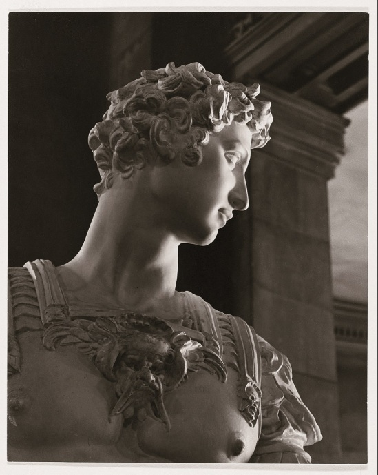 Calco di Giuliano de' Medici by Michelangelo, ca. 1942.