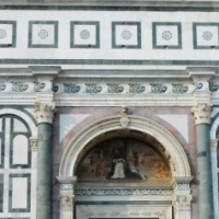 FLORENCE, ART AS AN EXPERIENCE OF GEOMETRY (#1) / IMAGES FROM THE BEAUTIFUL FAÇADE OF S.MARIA NOVELLA