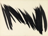Hans Hartung Sans titre 1956 cm.26,5x34,7 china su carta_0049
