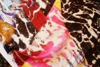 Roberto Alborghetti - Laceractions, Silk scarf, Limited edition (3)