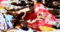 Roberto Alborghetti - Laceractions, Silk scarf, Limited edition (6)