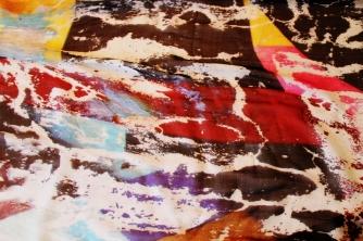 Roberto Alborghetti - Laceractions, Silk scarf, Limited edition (7)