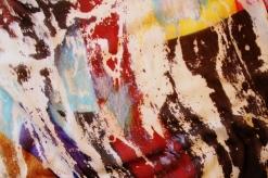 Roberto Alborghetti - Laceractions, Silk scarf, Limited edition (9)