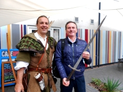 Roberto Alborghetti with Tim Pollard (Official Robin Hood)