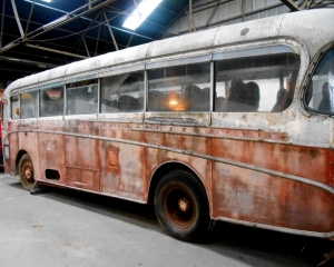 The Ghost Bus at Bartons Plc - Beeston-Nottingham, UK