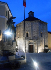 © Photo by ROBERTO ALBORGHETTI - St.John Baptistery, Lenno, Lake Como, Italy