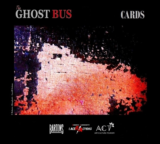 THE GHOST BUS - THE CARDS SERIES, WORK#1 -© Roberto Alborghetti – LaceR/Actions
