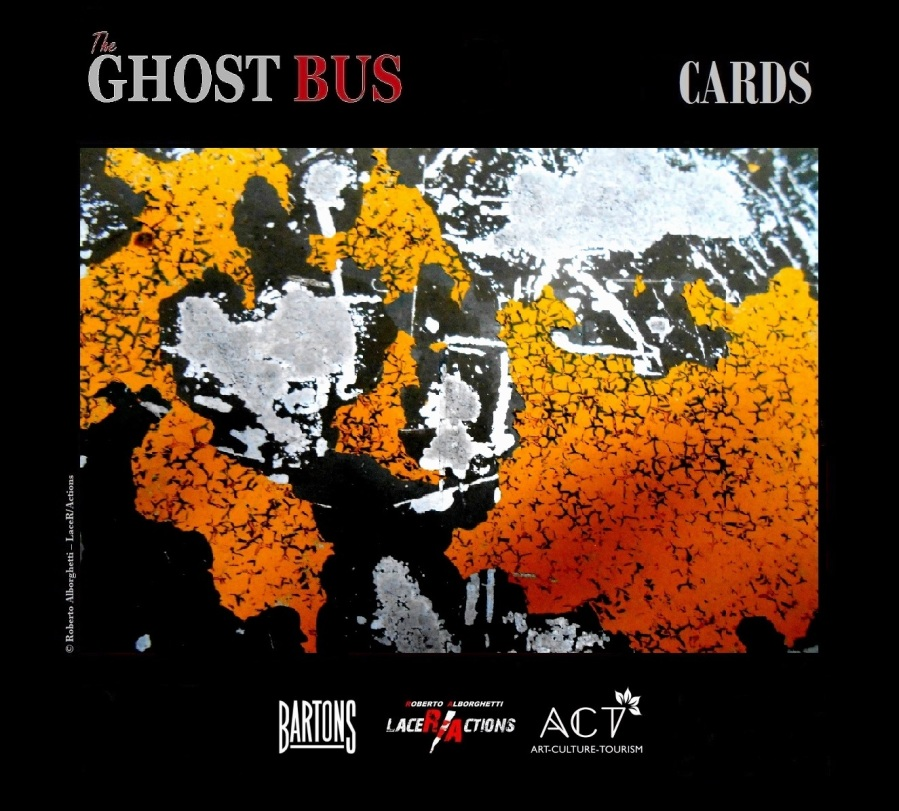 THE GHOST BUS, the CARDS,  by Roberto Alborghetti, 2015