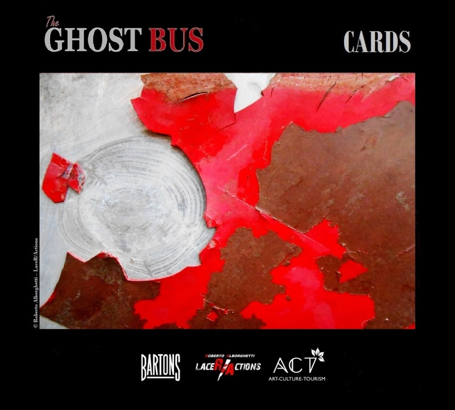 ROBERTO ALBORGHETTI, THE GHOST BUS, CARD # 4 FROM THE SHORT FILMS - PREMIERE ON MARCH 27, 2015, IN COLLABORATION WITH BARTONS PLC AND ACT GROUP