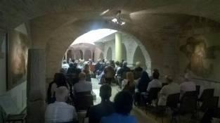 Assisi Museo S. Rufino - Presentazione Francesco 26 6 2015 (10)