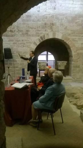 Assisi Museo S. Rufino - Presentazione Francesco 26 6 2015 (7)