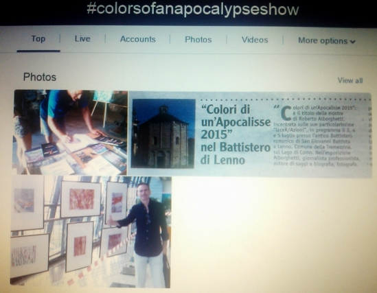 #colorsofanapocalypseshow : Twitter top trend.