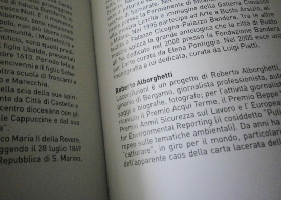 Roberto Alborghetti, The Official Catalogue of the Permanent Collection  of Contemporary Art