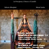 THE VOLCANO DRESS: A VERY SPECIAL EVENT IN TUSCANY TO CELEBRATE THE SUCCESS OF THE E-BOOK