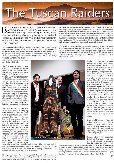 THE BEESTONIAN magazine - December 2015